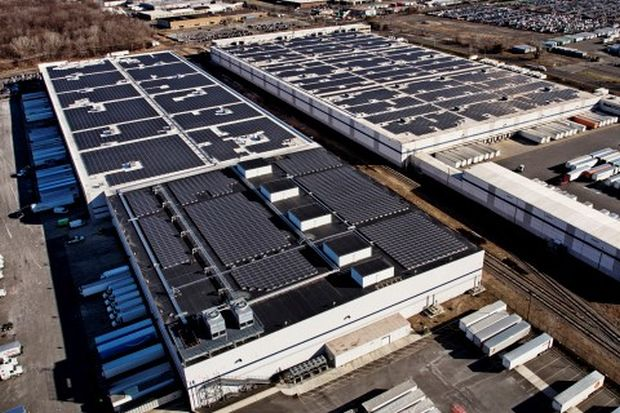 Amazon to get covered by solar