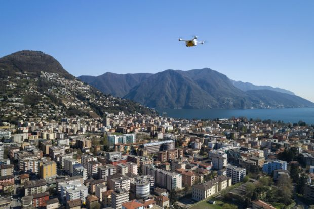 Delivery drones cleared to fly blood samples over Swiss cities
