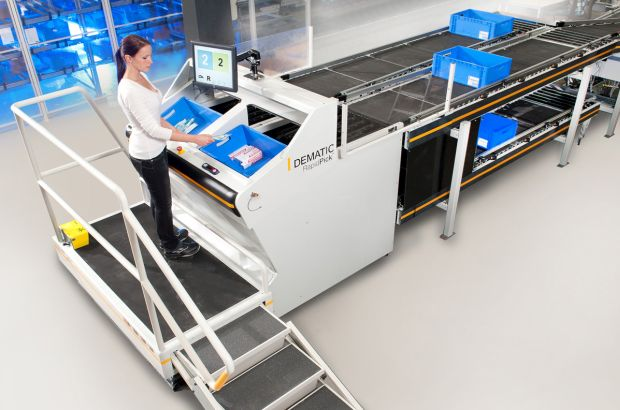 Advanced warehouse equipment for Sigma Pharmaceuticals