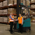 Chris Burke, Regional Safety Manager – Northern Region, Customised Solutions and Ben Flaiban, Training Manager, Crown Commercial.