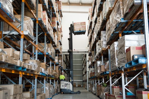 Mailing house reaches higher with new forklift fleet