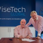[L-R] C.T. Freight CEO Clive W. Thomas and WiseTech Global CEO Richard White.