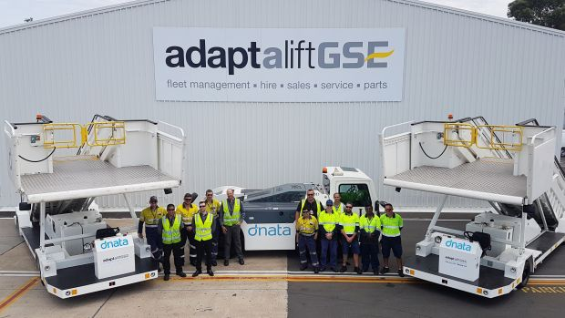 dnata Australia signs up with Adaptalift GSE