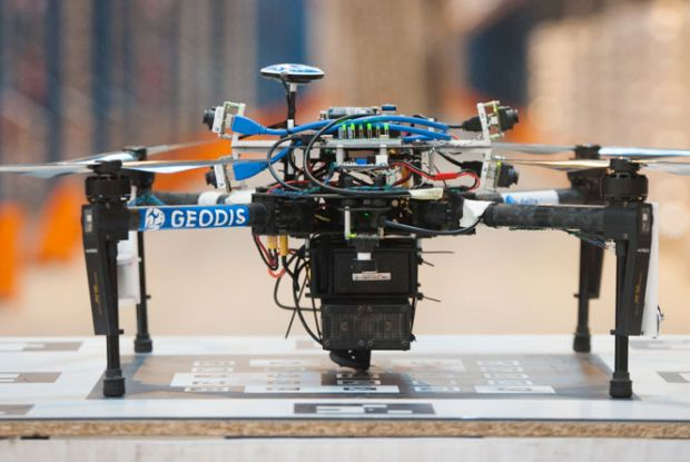 Warehouse inventory using drones: nearly there