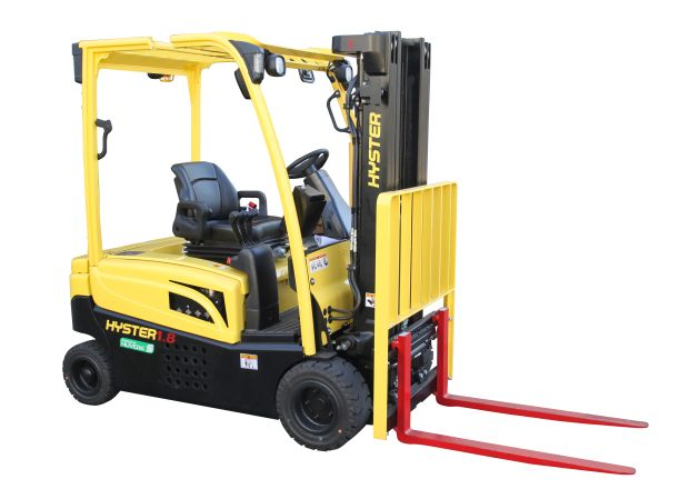Hyster goes with hydrogen