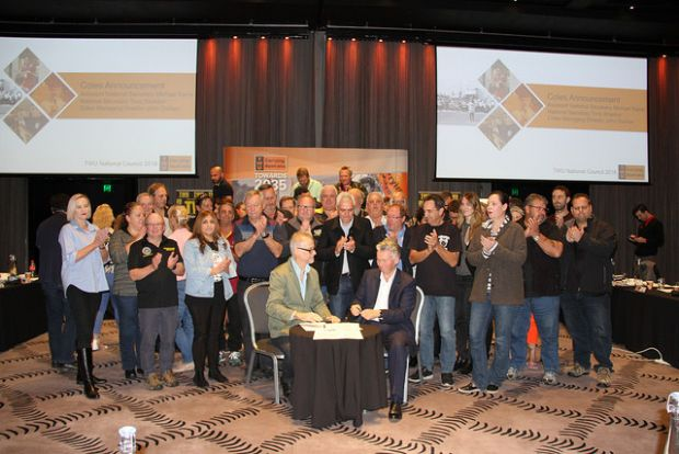 Toll, Coles sign workers' rights agreements with TWU