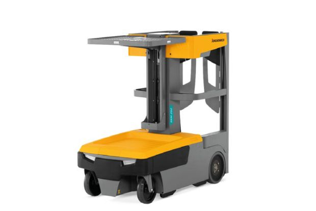 Small parts order picker released
