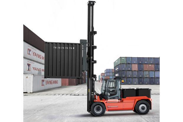 Electric-Kalmar-container-truck