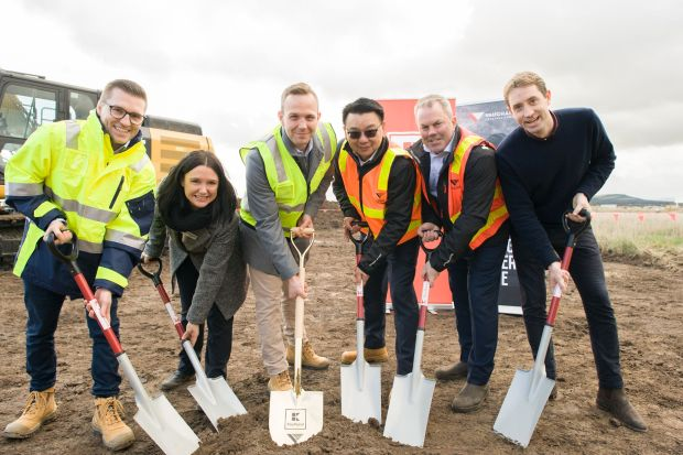 Kaufland Australia has celebrated commencing construction of its distribution centre in Mickleham, Victoria.