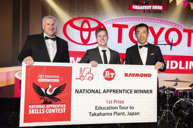 National Toyota forklift retailer Toyota Material Handling Australia (TMHA) has celebrated its top technicians with the annual National Skills Competition.