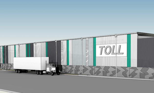 Toll to upgrade NZ freight terminal